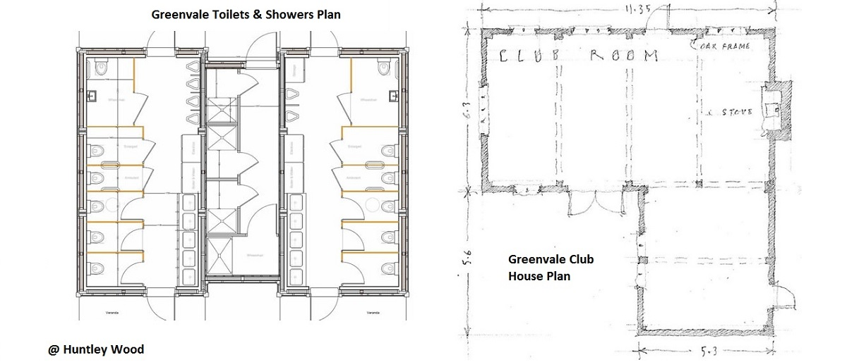 Club House & Toliet Layout