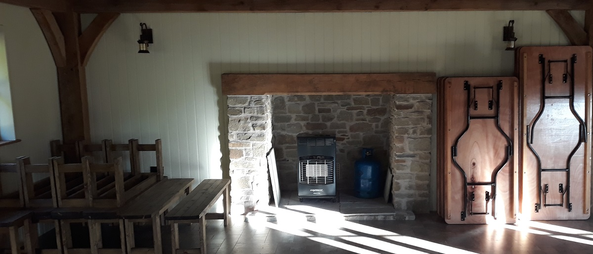 Club House Fireplace
