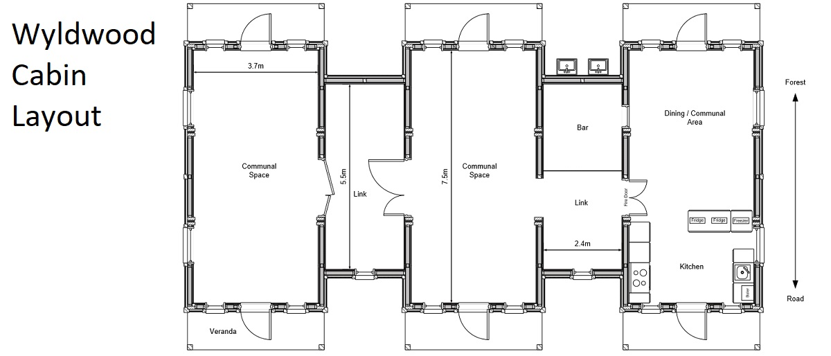 Wyldwood Cabin Layouts