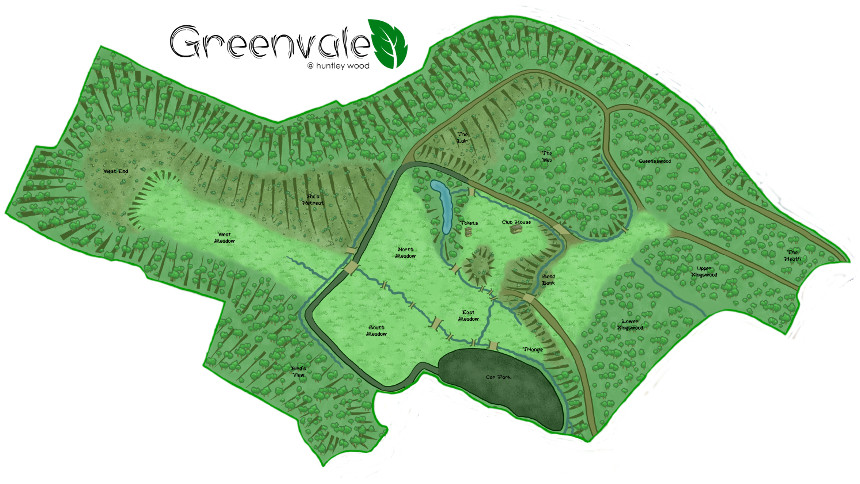 Greenvale Map