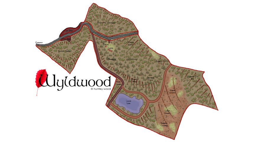 Wyldwood Map